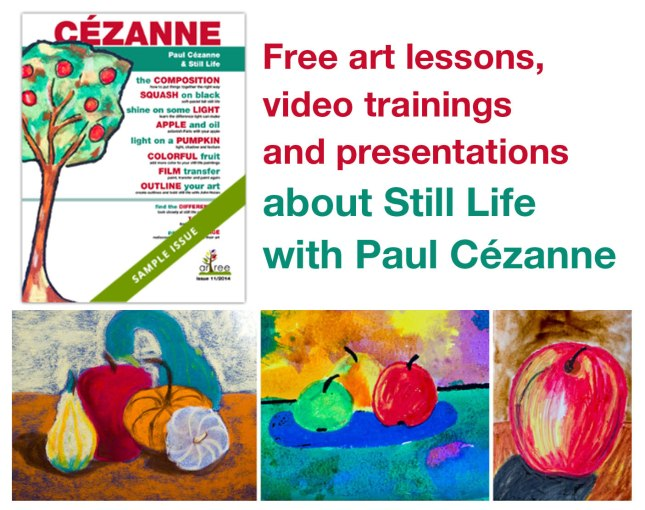 free cezanne art lessons for kids